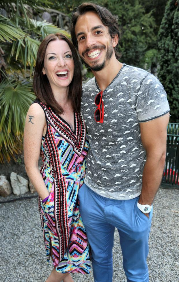 Jennifer Maguire and husband Lau Zamparelli