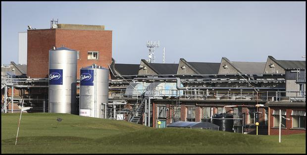 The Cadburys plant in Coolock