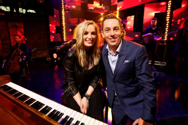 Molly with Ryan Tubridy