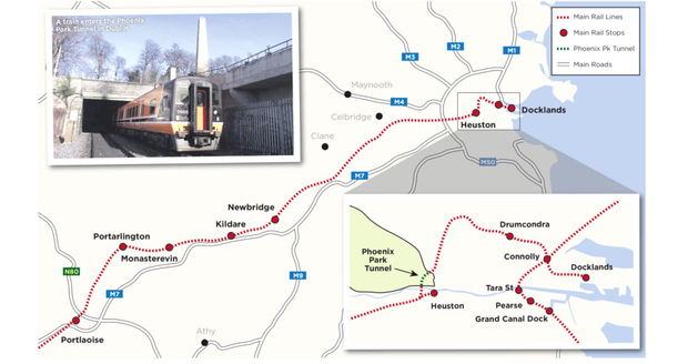 Plans For Four Trains An Hour In Phoenix Park Tunnel Next