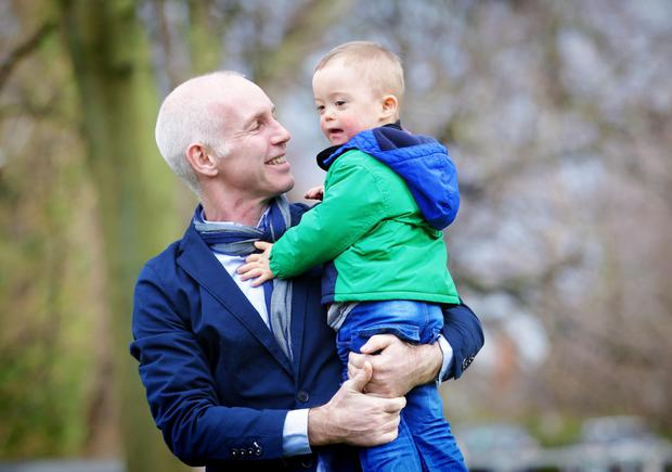 Ray D'Arcy and Conor Cunningham (3) from Castleknock