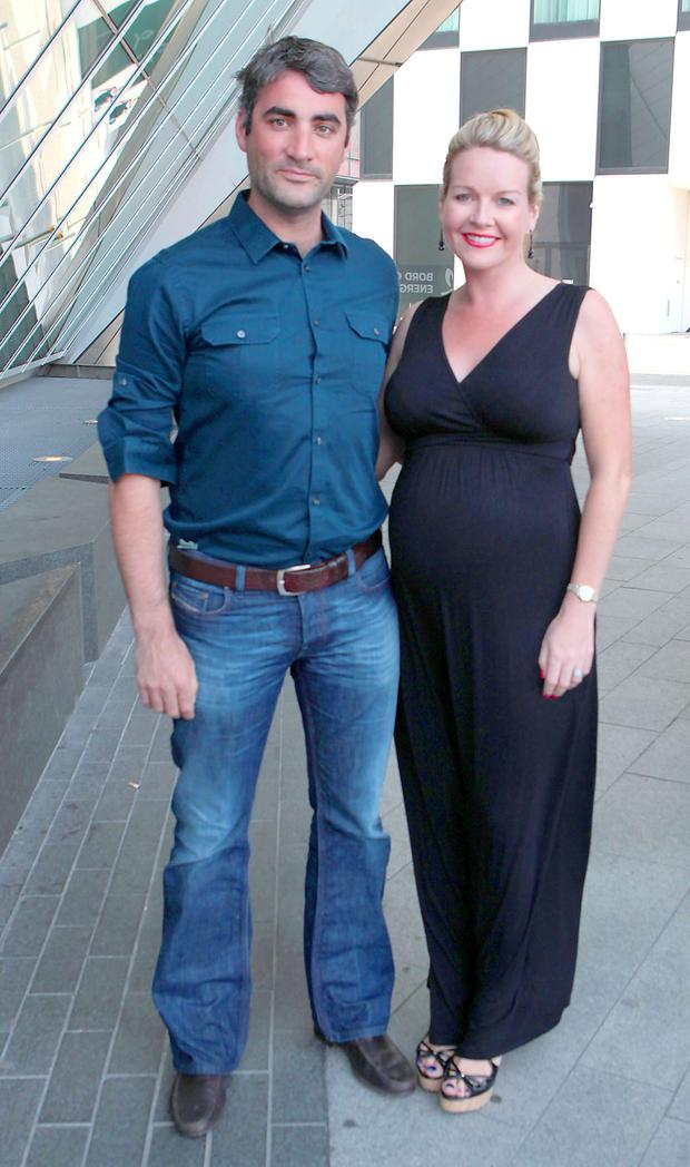 Claire Byrne and partner Gerry
