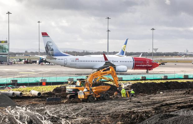 Works on expanding Dublin Airport