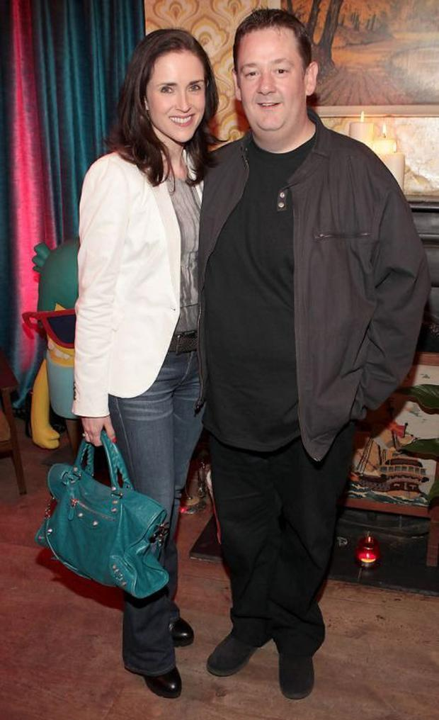 Maia Dunphy and comedian husband Johnny Vegas