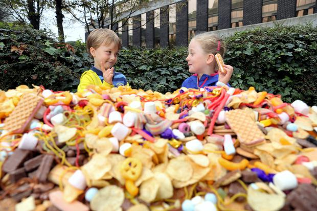 Safefood's campaign has seen a reduction in children eating sugary snacks