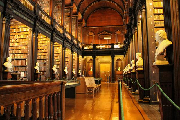Tcd Library Like A Disney Movie Says Travel Bible