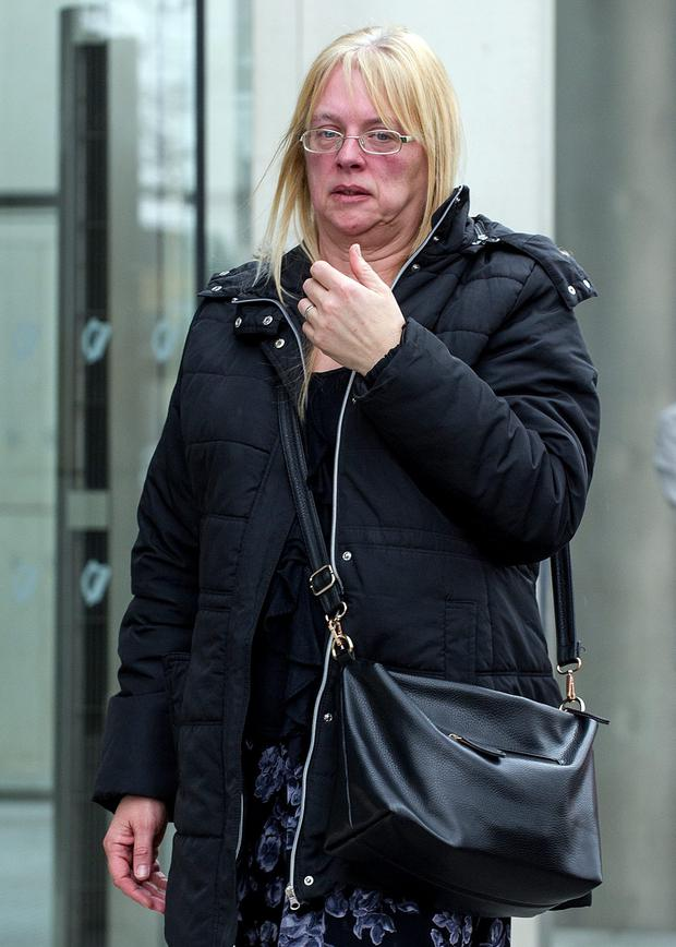 Jacinta Dixon leaving Dublin Circuit Criminal Court