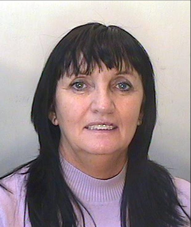 Undated handout photo issued by the Police Service of Northern Ireland of Julia Holmes who is on the run from police in Northern Ireland after jumping bail on fraud charges more than two years ago