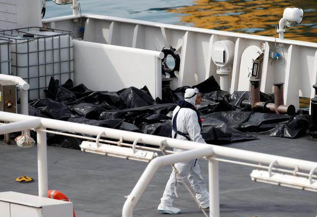 Italy migrants bodies