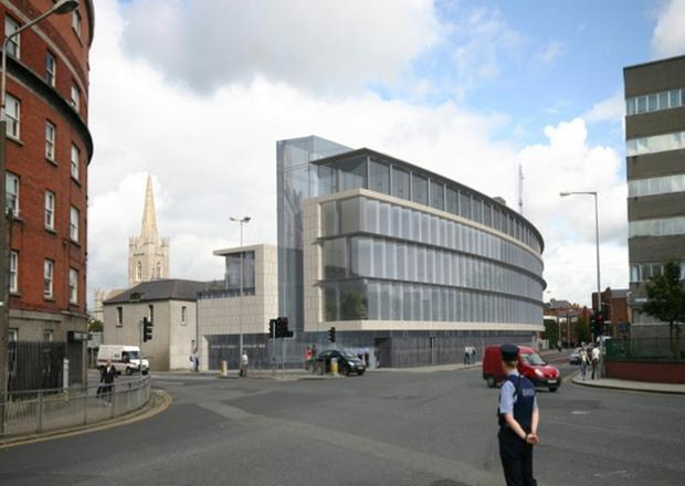 Proposed redevelopment of Kevin Street Garda Station