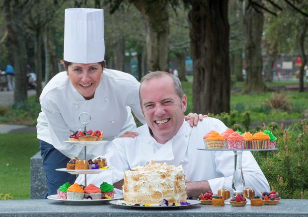 Sodexo Ireland chefs Glen Mullen from Ballinspittle and Charlotte O'Driscoll from Ballygarvan
