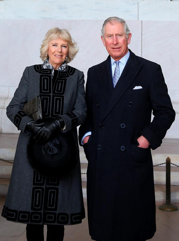 File photo: Britain's Prince of Wales and the Duchess of Cornwall as they are to visit the Republic of Ireland and Northern Ireland in May, Clarence House has announced