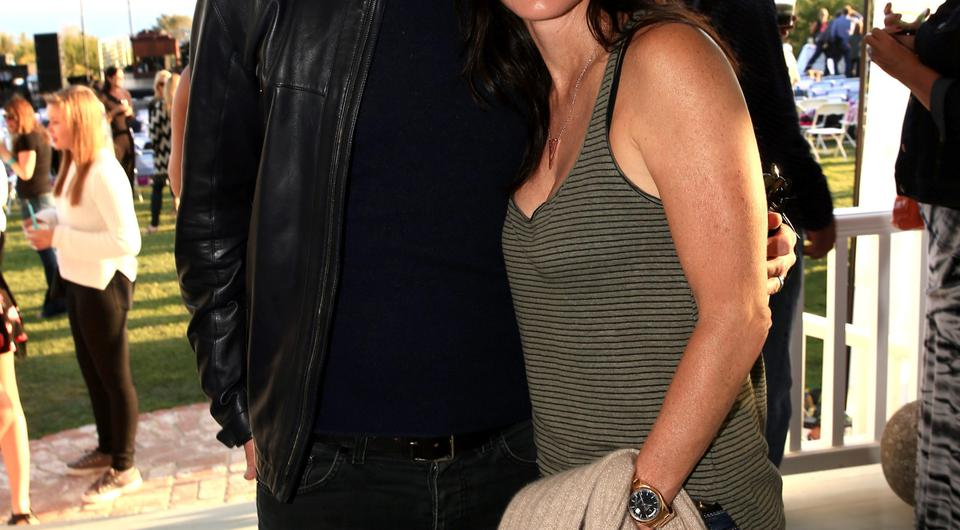 Courteney and Johnny