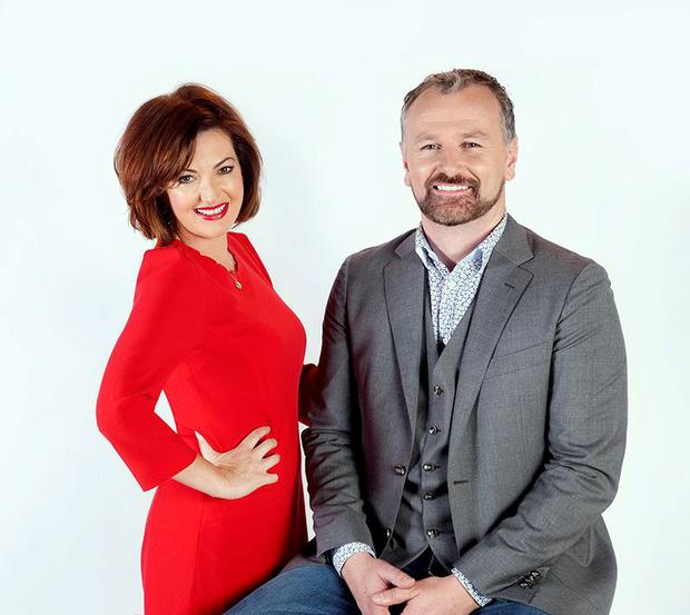 Today presenters Dáithí O Sé and Maura Derrane