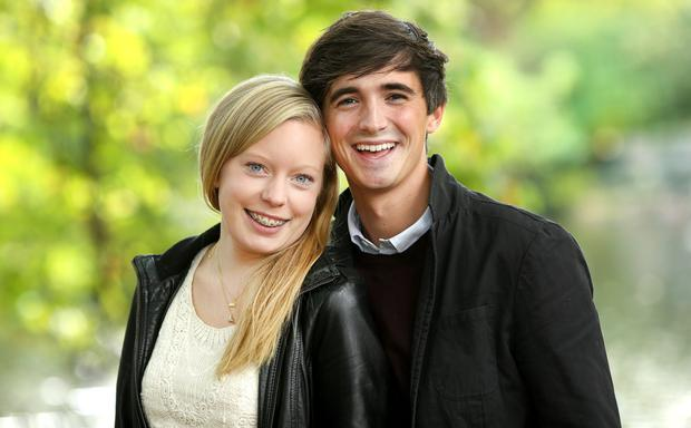 Sophie Larsen and Donal Skehan pictured for bondings.