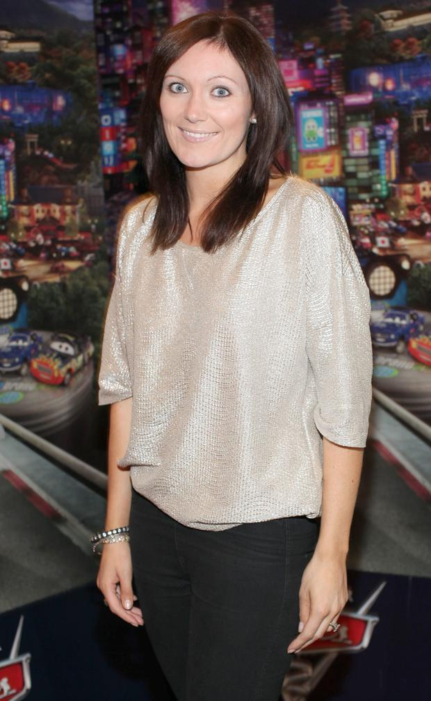 Georgina Ahern pictured at the Irish Premiere of 'CARS 2' in the Savoy Cinema, Dublin