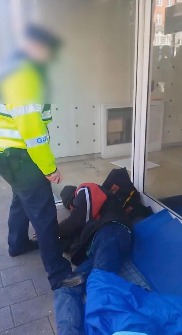 A garda superintendent has been appointed to investigate an incident involving a member of the force and a homeless man which took place in Dublin city centre.