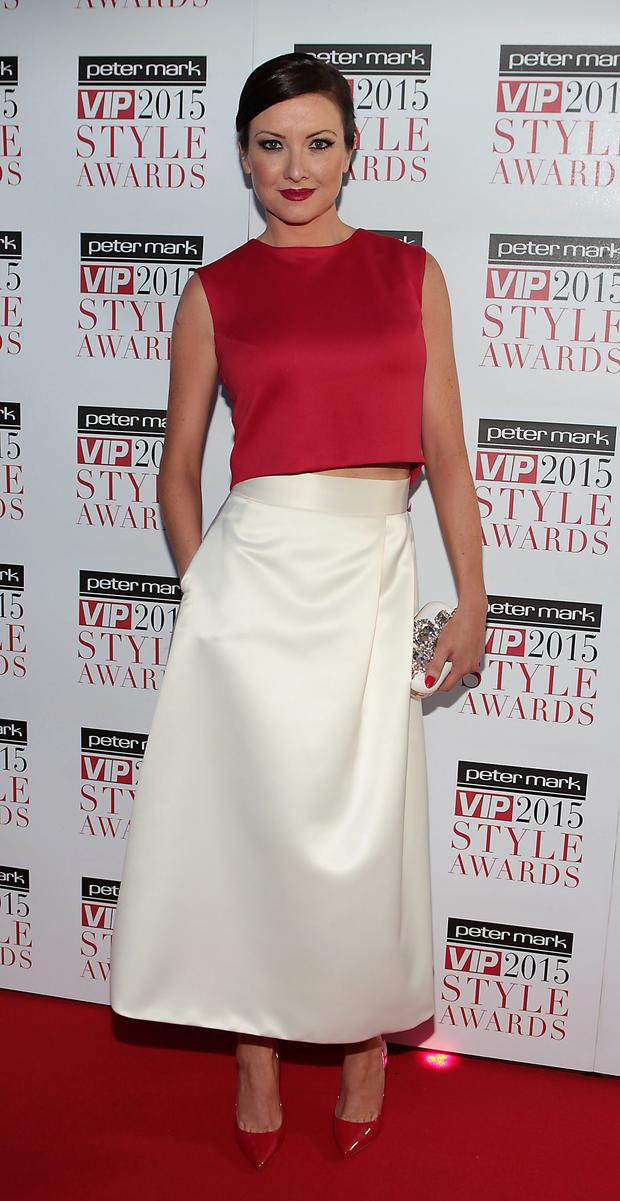Jen Maguire at the style awards