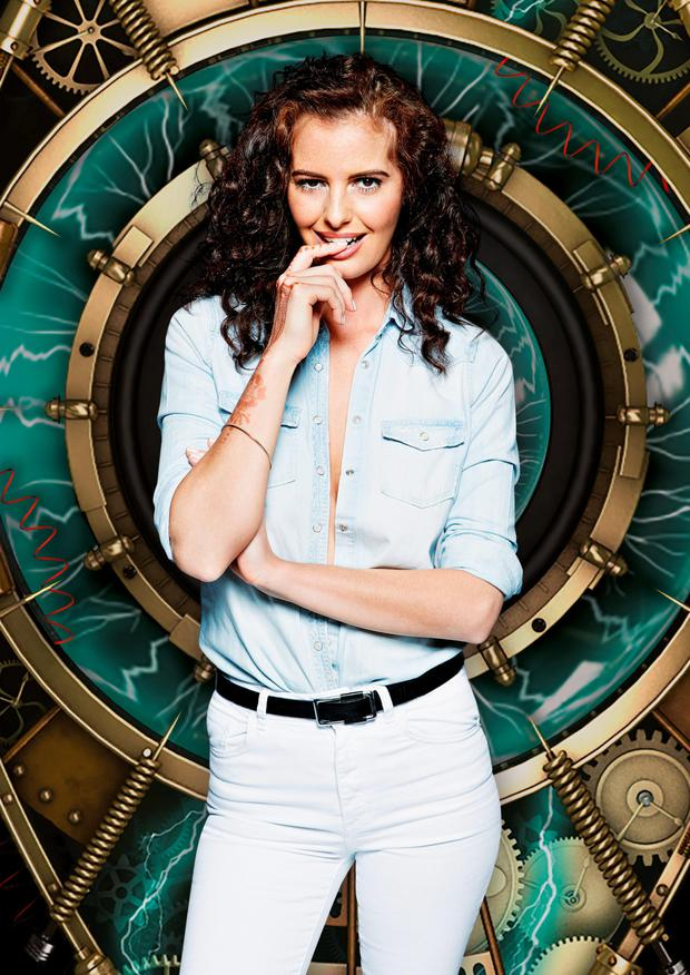 Jade-Martina Lynch, 24, from Dublin who is one of the housemates in Big Brother: Timebomb