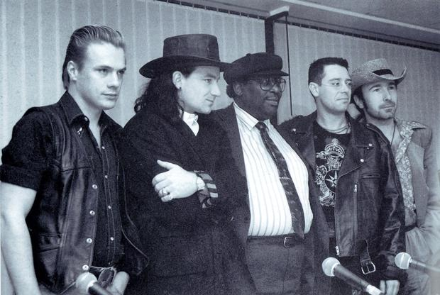 BB King and U2