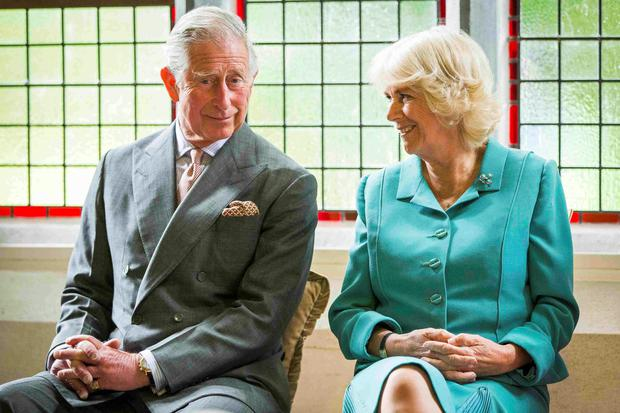 Prince Charles and his wife Camilla, Duchess of Cornwall, attend a welcome reception at the National University of Ireland in Galway, Ireland REUTERS/Adam Gerrard/pool
