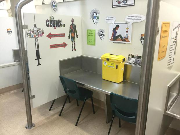 An injection site in Sydney