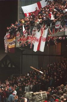 England fans 1995
