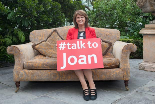 Tanaiste & Labour Party Leader Joan Burton TD
