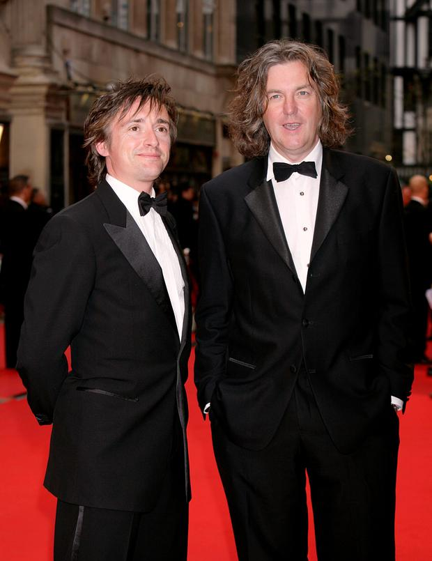 Richard Hammon and James May