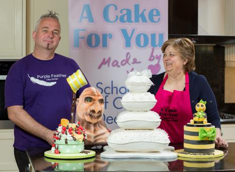Grainne MacClancy who runs A Cake for You. Who is sending Paul Redmond over as part of a baking team to represent Ireland in a Global Live Challenge Competition to be held on 18th September, 2015 at the inaugural The Americas Cake and Sugarcraft Fair to be presented by Satin Ice. 3/6/2015 Picture by Fergal Phillips