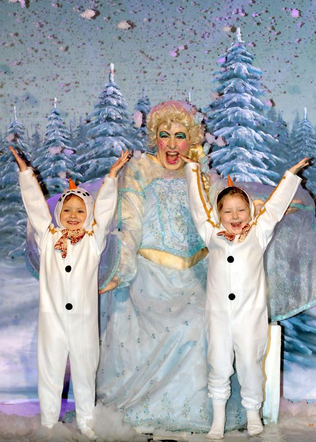 FREEZIN' The Story of the Snow Queen, starring Ireland's funniest Dame Al Porter, at The Olympia Theatre.
