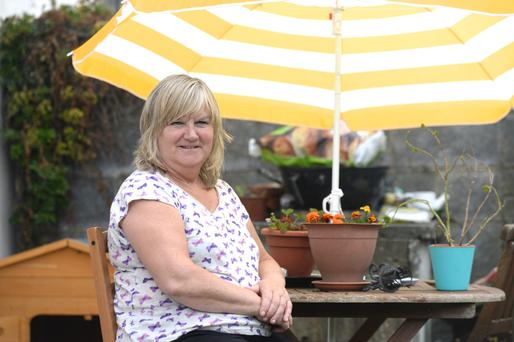 Meningitis survivor Bridget Fox pictured at home in Greystones