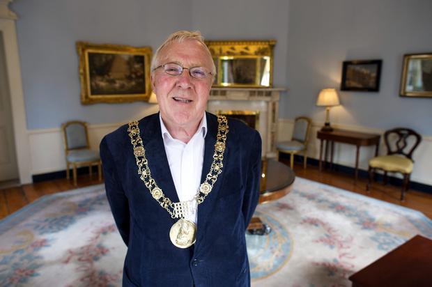 Lord Mayor Christy Burke at the Mansion House