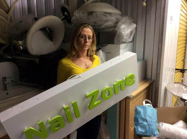 Louise Hogan , owner of Nail Zone , a former concession owner at Clerys