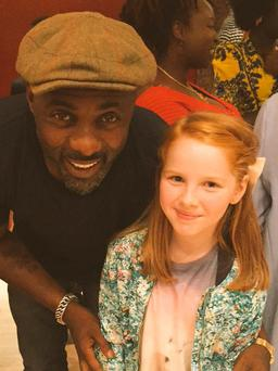 Ali Keating and Idris Elba