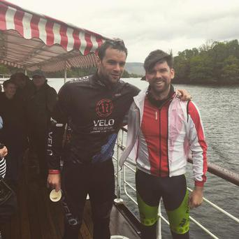 Bressie with RTE's Eoghan McDermott