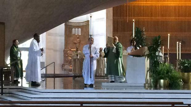 A mass for the dead and injured was held in St Mary's Cathedral in San Francisco