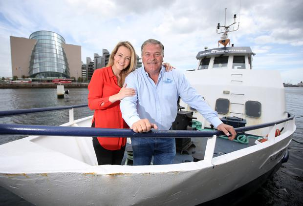 Aoibhin Garrihy pictured with her Dad Eugene