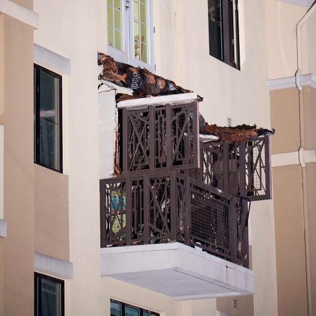 Berkeley tragedy balcony