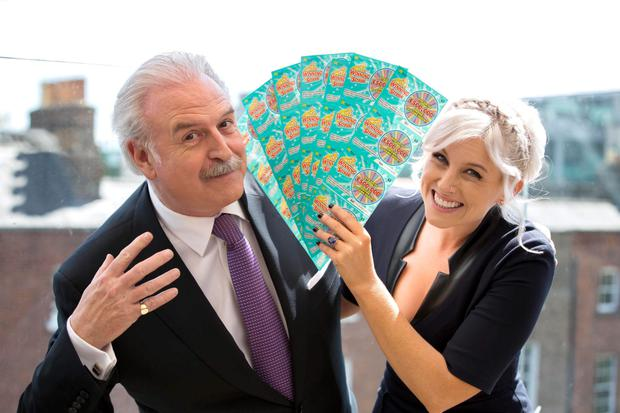 Marty Whelan and Sinead Kennedy