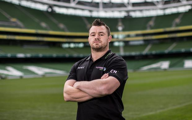 Ireland rugby star Cian Healy