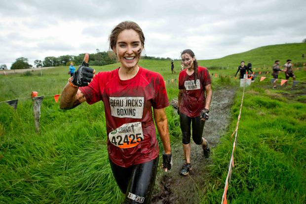 Roz Purcell at Tough Mudder