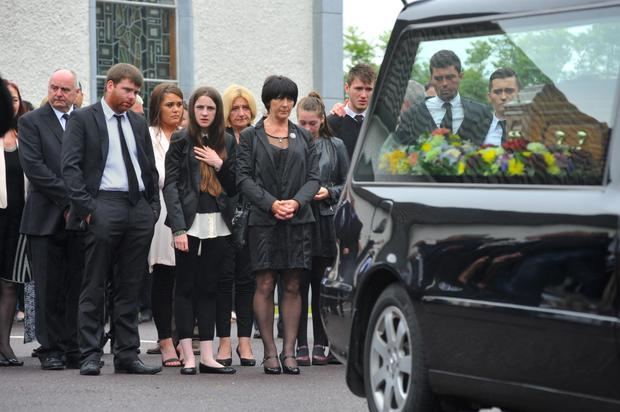 Barry Davis Ryan funeral