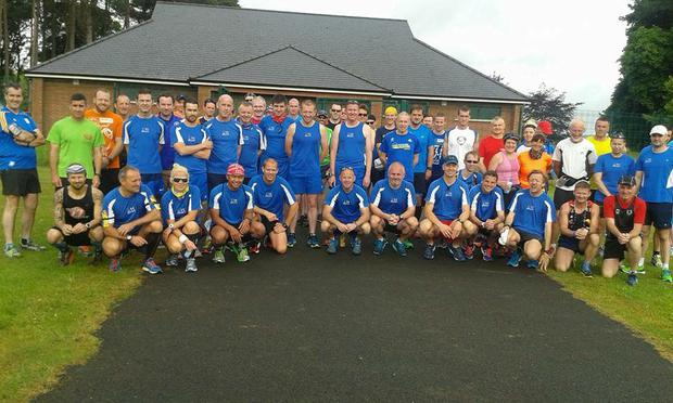 East of Ireland marathon runners are going to take part in an event in Howth