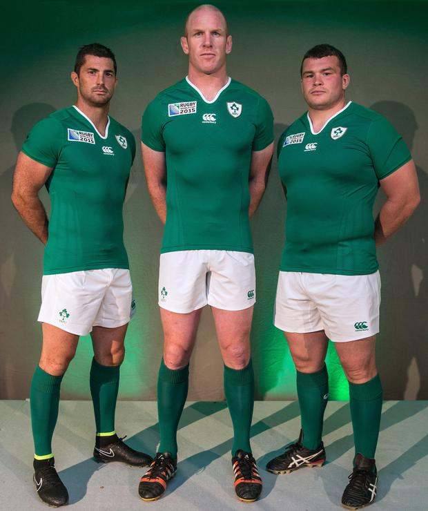 Rob Kearney, Paul O'Connell and Jack McGrath