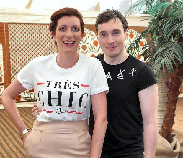 Rte 2fm presenter Ciara King and Chris Green pictured at the Rte 2fm Summer launch at Rte Studios in Donnybrook, Dublin.