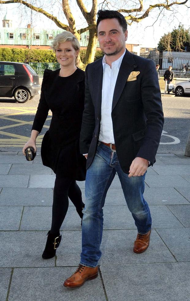 Ceceila Ahern and husband David Keoghan