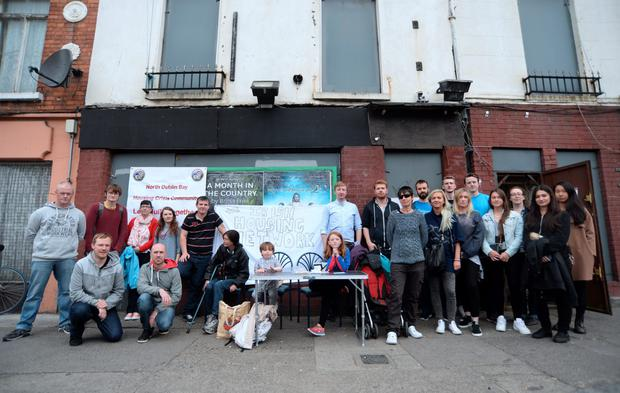 Volunteers and supporters of Bolt Hostel, formerly known as Bolton House.