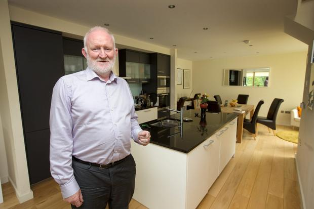 Housing Agency Chairman Conor Skehan at home in Dublin