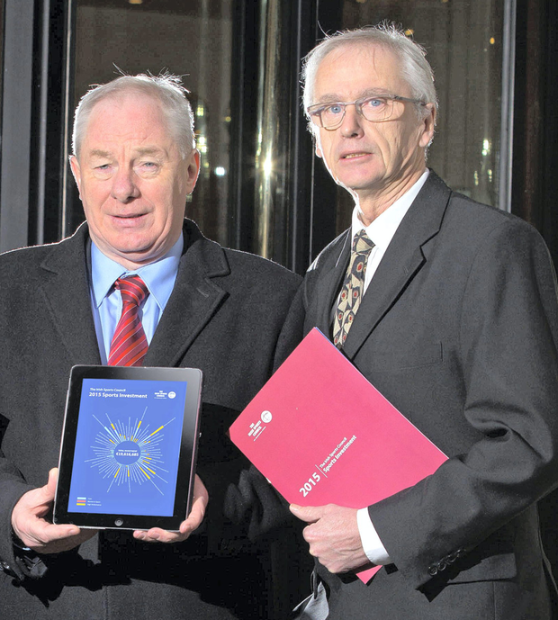 Minister Michael Ring (left) and John Treacy want answers